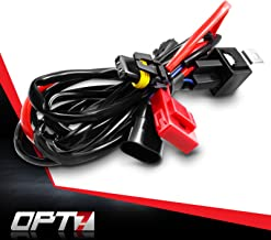 OPT7 HID Relay Harness Anti-Flicker Power Wiring for OPT7 Xenon Kits