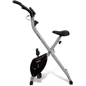 Athlyt Basic Folding Exercise Bike Basic, Grey