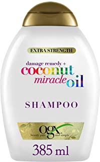 OGX Champú Coconut Miracle Oil Repara y Revive Cabellos Dañados 385ml