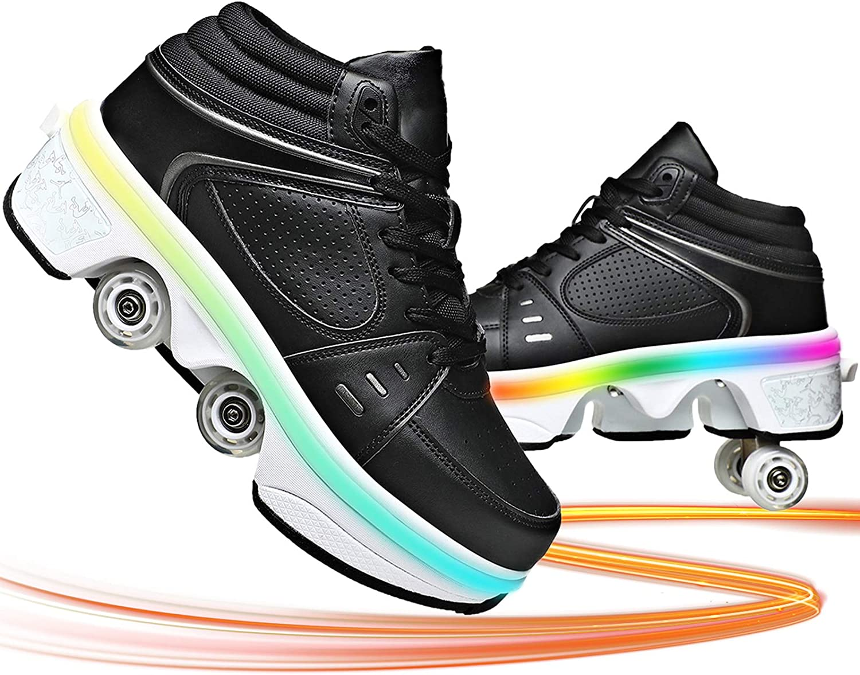 Roller Skates Shoes 5 ☆ popular for Low price Deformation Girls Boys
