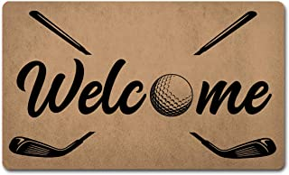 personalized golf doormats