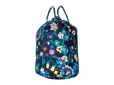 Vera Bradley Iconic Ditty Bag (Moonlight Garden) Backpack Bags