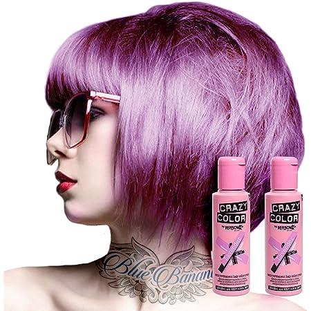 Tinte capilar semi-permanente de Crazy Color 100ml (Lavender - lavanda)