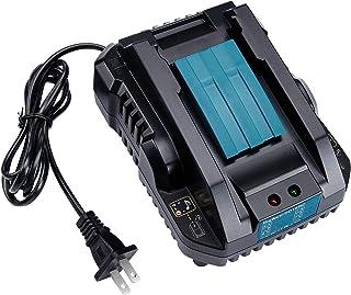 WaxPar DC18RC 互換充電器 対応 マキタ 14.4V~18V リチウムイオンバッテリ マキタ バッテリー BL1430 BL1440 BL1450 BL1460 BL1815 BL1830 BL1840 BL1850 BL1860 ...