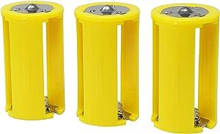 良いおすすめ二作バッテリースペーサーAAAx 3> D単三電池を単三電池に変換と2021のレビュー