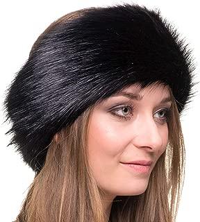 Winter Faux Fur Headband for Women - Like Real Fur - Fancy Ear Warmer