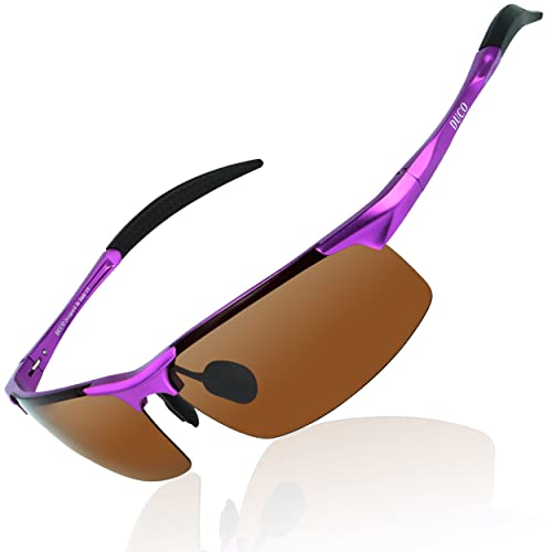 b0920d192b DUCO Mens Sports Polarized Sunglasses UV Protection Sunglasses for Men 8177s