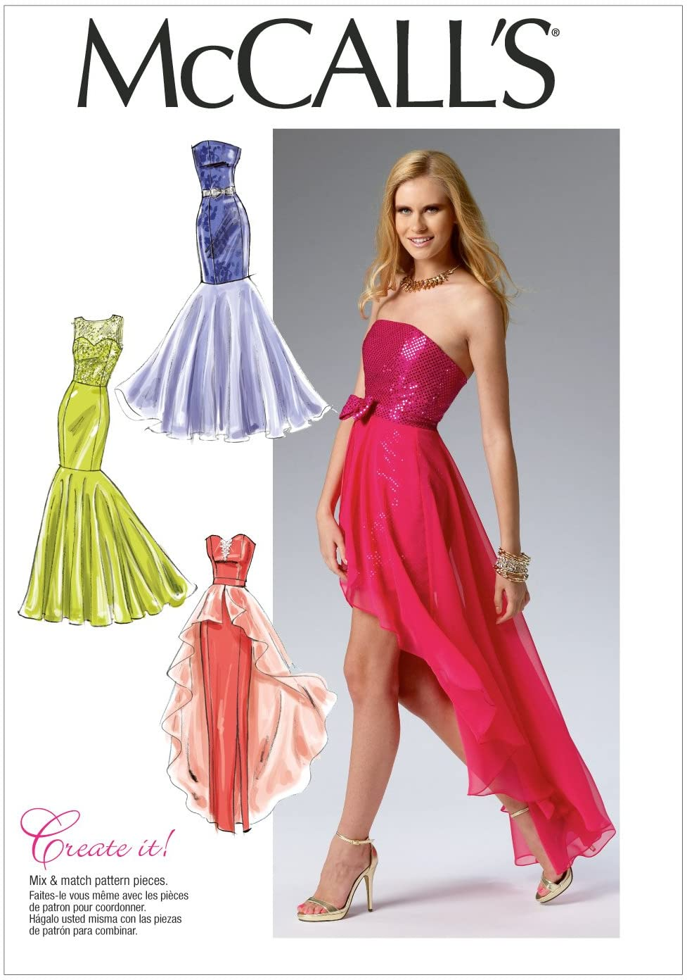 McCall Pattern Company New popularity M6838 Misses' Template Popular product Sewing Dress Size