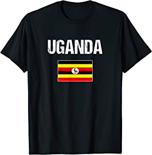 Uganda T-shirt Ugandan Flag Tees - For Men/Women/Youth/Kids