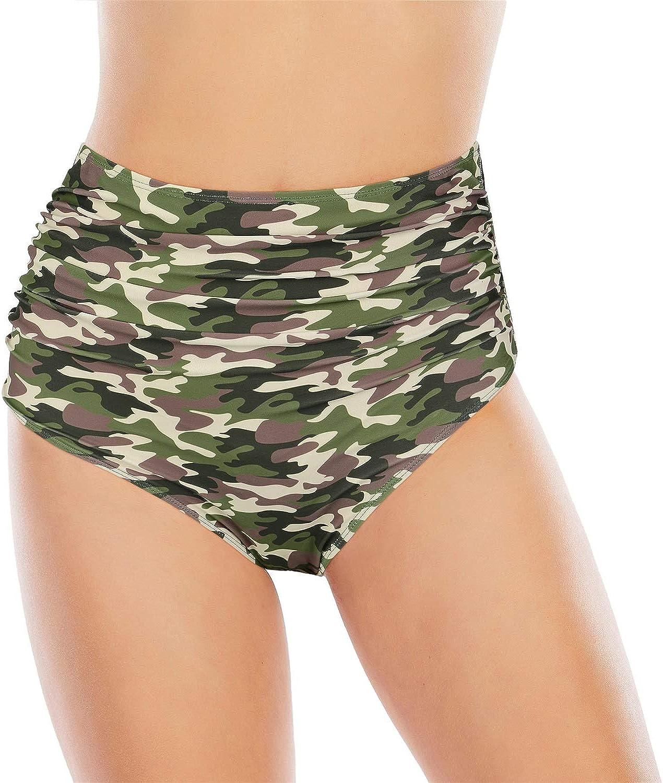 Womens Swim Shorts Tankini Bathing Suit Bottoms Plus Size Swimwewar Bottoms Tummy Control Boyshorts Beach Shorts for Women