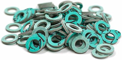 KINETICS LINE Joint Plat en Fibre 3/8 Pouce (14.5 x 9 x 2 mm) 100 Pièces Type 180 (Jusqu'À 180°C)