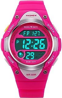 Hiwatch Kids Watch Waterproof LED Digital Watch with Alarm