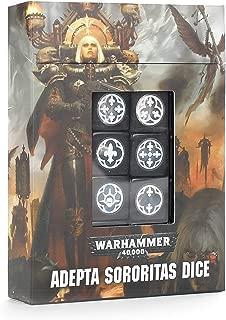 Games Workshop Warhammer 40,000: Adepta Sororitas Dice