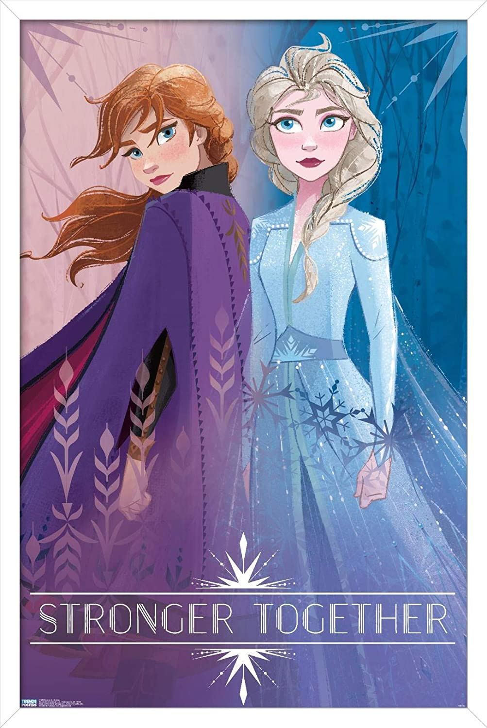 Trends International Disney Pixar Frozen Limited time for free shipping Ranking TOP2 - Poster 2 Sisters Wall