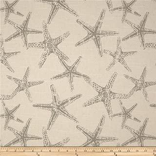 Premier Prints Sea Friends Slub Coastal Grey Fabric by The Yard
