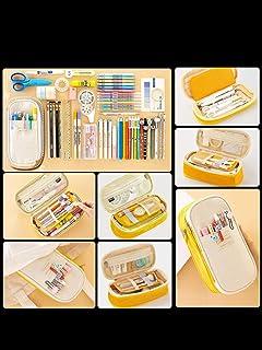 LMWB Pennskrin stor kapacitet multifunktionell flerlagers student skrivbordsmaterial låda kreativ brevpappersväska kvinna ...