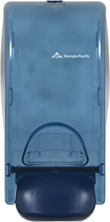 Wall-Mounted Manual Dispenser for Foaming Hand Soap and Hand Sanitizer by GP PRO (Georgia-Pacific), Splash Blue, 53052, 5.600