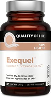Premium Probiotic for Skin Health – Soothes Dry Sensitive Skin, Reduces Redness & Supports Healthy Hydrated Skin – Include...