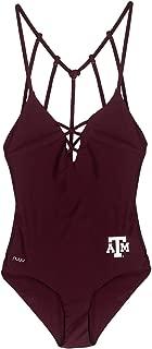Texas A&M University Crisscross One Piece Swimsuit - Swimwear