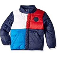 Boys' Adaptive Winter Jacket with Down Fill and Magnetic Buttons
