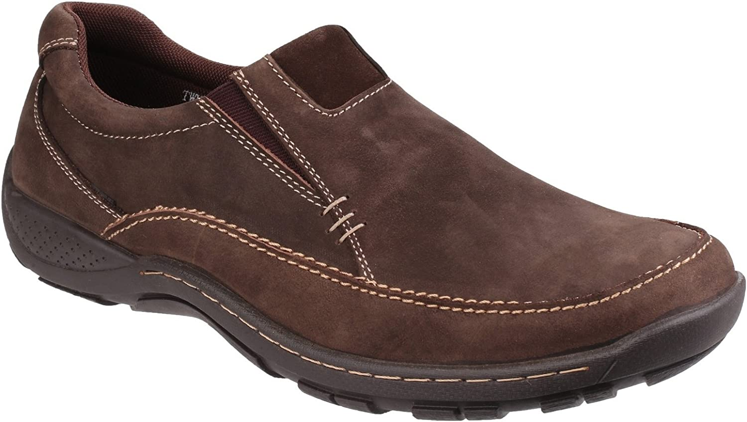 Cotswold Mens Twyning Slip On shoes Coffee Size UK 6 EU 40