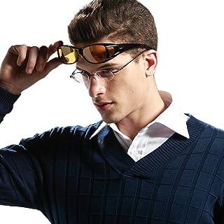 Duco Night Vision Glasses Polarized Wrap Around Prescription Eyewear