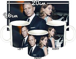 MasTazas James Bond 007 Spectre Daniel Craig Lea Seydoux B Taza Mug