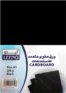 Cardboard Black Leeno A3