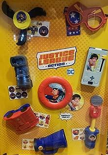 Happy Meal Justice League 2018 McDonalds Toys - Complete Set of 8 Superman Batman Wonder Woman The Flash Supergirl Batgirl