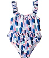 Kate Spade New York Kids - Brush Strokes One-Piece (Infant)