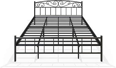 Homdec Antlia Metal King Bed