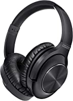 UNIGEN AUDIO Active Noise Cancelling Headphones with Dual Mic for Phone Calls | Bluetooth 5.0 | Powerful Bass Audio | 20...