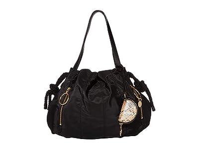 See by Chloe Flo Shoulder Bag (Black) Handbags