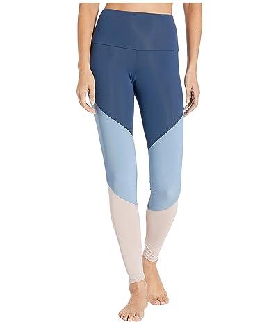 Onzie High-Rise Track Leggings (Pebble Combo) Women