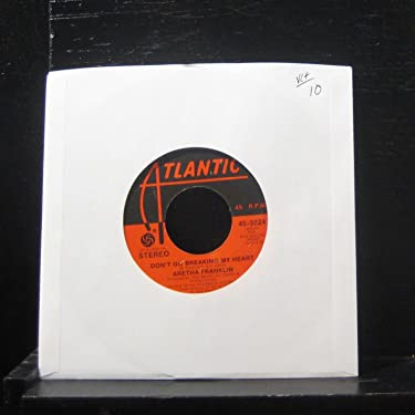 """Aretha Franklin - Without Love / Don't Go Breaking My Heart - 7"""" Vinyl 45 Record"""
