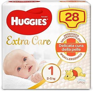 Huggies baby, 28 luiers, maat 1 (2-5 kg)