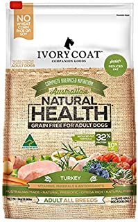 Ivory Coat Adult and Senior Low Fat Turkey 13kg Grain Free Dog Food