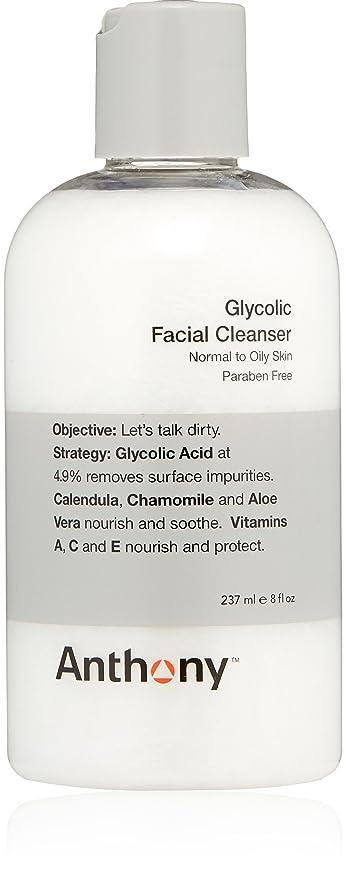 静脈超えてオデュッセウスAnthony Glycolic Facial Cleanser 237ml
