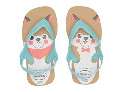 Havaianas Kids Baby Pets Flip-Flop (Toddler) (Ivory) Girls Shoes