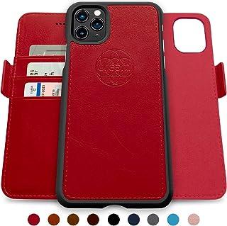 Dreem Fibonacci 2-in-1 Wallet-Case for iPhone 11 Pro Max, Magnetic Detachable Shock-Proof TPU Slim-Case, Wireless Charging...