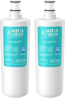 AQUACREST 3US-AF01 Under Sink Water Filter, Compatible with Filtrete Standard 3US-AF01, 3US-AS01, Aqua-Pure AP Easy C-CS-FF, Whirlpool WHCF-SRC, WHCF-SUFC, WHCF-SUF Water Filter (Pack of 2)