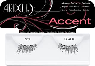 Andrea Accents Eye Lashes - 301 Black, 4-Pack