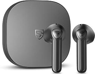 SOUNDPEATS TrueAir2+ ワイヤレスイヤホン aptX Adaptiveサポート ワイヤレス充電対応 QCC3040チップセット搭載 低遅延ゲーミングモード bluetooth イヤホン 小型 TrueWireless Mirr...