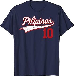 Philippines Soccer Jersey Pilipinas Basketball Retro T-Shirt