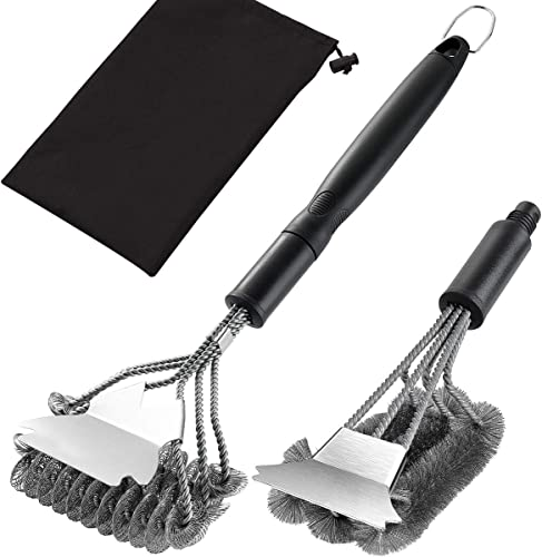 grilljoy-Grill-Brush-with-Scraper-18-Inch-Two-Kinds-of-Exchangeable-Brush
