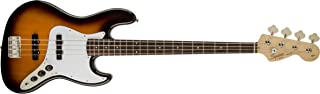 Squier by Fender Affinity Series Jazz Bass - Laurel Fingerboard - Brown Sunburst