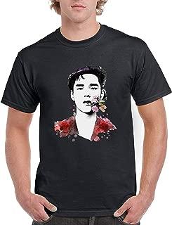 Mens Dean Kpop Art Black T Shirt