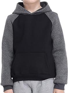 GAZIAR Kids Sweatshirt Boys Fleece Hoodie Girls Classic Athletic Pullover with Pockets