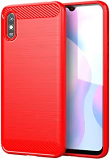 RanTuo Case for vivo V21 5G, Anti-Scratch, Soft Silicone, Shockproof, Cover for vivo V21 5G.(Red)