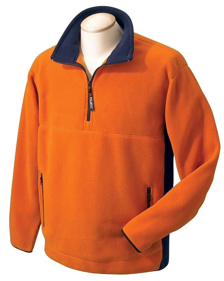 Chestnut Hill Polartec Colorblock Quarter-Zip Jacket CH970